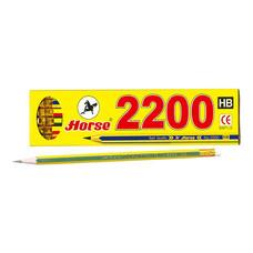ดินสอดำ ตราม้า H-2200 HB (กล่อง 12 แท่ง)