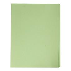 แฟ้มพับ ใบโพธิ์ 300 แกรม A4 สีเขียว (แพ็ค 50 เล่ม)