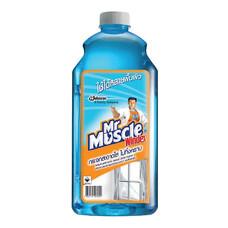น้ำยาเช็ดกระจกชนิดเติม มิสเตอร์มัสเซิล 2,040 มล.