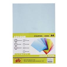 กระดาษสีถ่ายเอกสาร สเปคตรัม No.1 80/100 A4 สีฟ้า