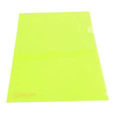 แฟ้มซองพลาสติก ตราช้าง 410A A4 สีเขียว (แพ็ค 12 เล่ม)