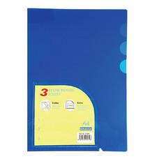 แฟ้มซอง ไบน์เดอร์แม็กซ์ 01049 A4 3 ช่อง สีน้ำเงิน