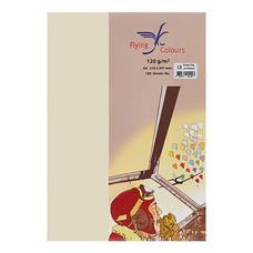 กระดาษสีถ่ายเอกสาร ฟลายอิ้ง No.04 160/50 A4 สีครีม