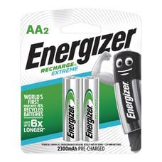 ถ่านชาร์จ ENERGIZER NH15 RP2 AA เขียว (แพ็ค 2 ก้อน)