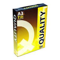 กระดาษถ่ายเอกสาร QUALITY 70/500 A3 (ห่อสีเหลือง)