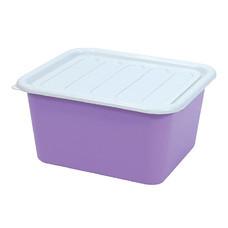 กล่องพลาสติกอเนกประสงค์แบบมีฝาปิด รุ่น 1556 15 ลิตร คละสี