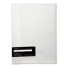 แฟ้มโชว์เอกสาร อี-ไฟล์ รุ่น 710A ขนาด A4 สีใส (20 ซอง)