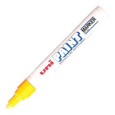 ปากกาเพ้นท์ ยูนิ รุ่น PX-20 สีเหลือง
