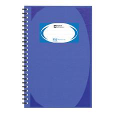 สมุดบันทึกมุมมันสันห่วง ตราช้าง WHC-402 สีน้ำเงิน