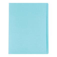 แฟ้มพับ ใบโพธิ์ 230 แกรม A4 สีฟ้า (แพ็ค 100 เล่ม)