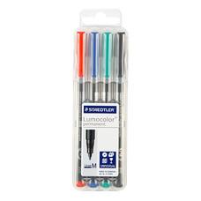 ชุดปากกาเขียนแผ่นใส สเต็ดเล่อร์ 317-WP4 No.M ลบไม่ได้