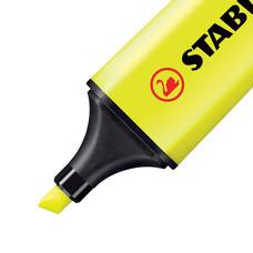 ปากกาเน้นข้อความ สตาบิโลบอส สีเหลือง