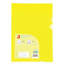 แฟ้มซอง ไบน์เดอร์แม็กซ์ 01049 A4 สีเหลือง