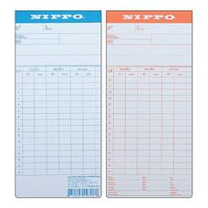 บัตรตอก NIPPO 100 แผ่น/แพ็ก