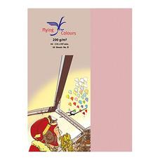 กระดาษสีถ่ายเอกสาร ฟลายอิ้ง No.18 200/50 A4 สีชมพู