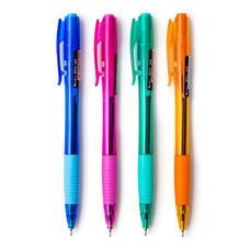 ปากกา ควอนตั้ม สเก็ต 555 0.5มม. สีน้ำเงิน