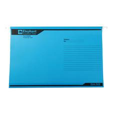 แฟ้มแขวน ตราช้าง 926 F4 สีฟ้า(แพ็ค 10 เล่ม)