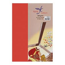 กระดาษสีถ่ายเอกสาร ฟลายอิ้ง No.30 120/100 A4 สีแดง