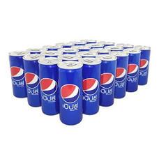 เครื่องดื่ม Pepsi Can 245 ml. (แพ็ค 24 กระป๋อง)