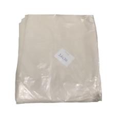 ถุงขยะ สีขาว ขนาด 24x30 นิ้ว (แพ็ค 1 กิโลกรัม)