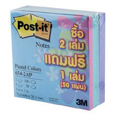 Post-it 3M 654-2AP 3x3
