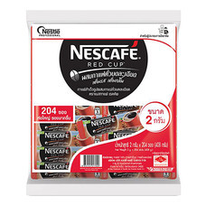 เนสกาแฟ เรดคัพ แบบซอง 2 กรัม แพ็ค 204 ซอง