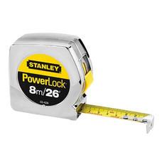 ตลับเมตร PowerLock ยาว 8 เมตร STANLEY รุ่น 33-428