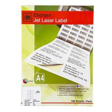 ป้ายสติกเกอร์ ช้าง Jet Laser#18-034 105x36มม.1,600 ป้าย(กล่อง 100 แผ่น)