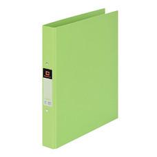 แฟ้ม 2 ห่วง ตราช้าง 221 A4 สัน 3.5 ซม. สีเขียวมะนาว