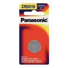 ถ่านกระดุมลิเธียม พานาโซนิค CR-2016PT/1B 3V แพ็ค 1