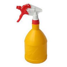 กระบอกฉีดน้ำ สีเหลือง หัวฉีดแดง