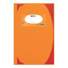 สมุดบันทึกมุมมัน ตราช้าง 5/100 HC106 70g สีส้ม