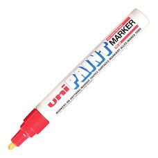 ปากกาเพ้นท์ ยูนิ รุ่น PX-20 สีแดง