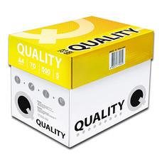กระดาษถ่ายเอกสาร ควอลิตี้ 70/500A4 ห่อเหลือง (แพ็ค 5 รีม)