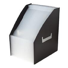กล่องเอกสารพลาสติก ไบน์เดอร์แม็กซ์ 01018 สีดำ
