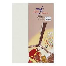 กระดาษการ์ดสี 03 160แกรม A4 สีงาช้าง (แพ็ค50แผ่น)