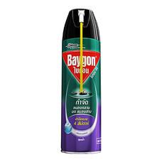 สเปรย์สูตรน้ำกำจัดแมลงคลาน BAYGON กลิ่นลาเวนเดอร์ 600 มล.