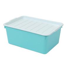 กล่องพลาสติกอเนกประสงค์แบบมีฝาปิด รุ่น 2056 20 ลิตร คละสี