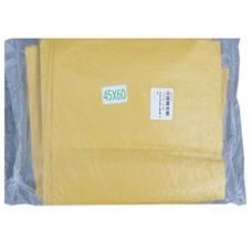 ถุงขยะ สีเหลือง 45x60
