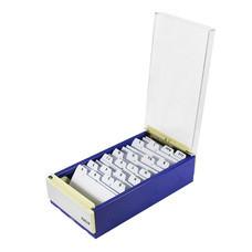 กล่องใส่นามบัตร อีเกิ้ล #818M ใส่ได้ 600 ใบ