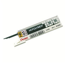 ไส้ดินสอกด เพนเทล ไฮโพลิเมอร์ C205 0.5 มม. HB