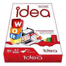 กระดาษถ่ายเอกสาร IDEA WORK 80/500 A3