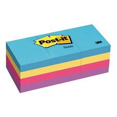 Post-it 3M 653-AUอัลตร้าไบร์ทคละสี(แพ็ค 12 เล่ม)