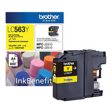 INKJET CRTG  BROTHER LC-563Y