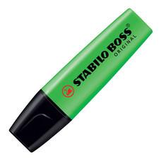 ปากกาเน้นข้อความ สตาบิโลบอส สีเขียว