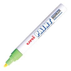 ปากกาเพ้นท์ ยูนิ รุ่น PX-20 สีเขียว