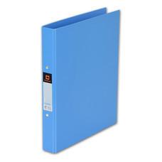 แฟ้ม 2 ห่วง ตราช้าง 221 A4 สัน 3.5 ซม. สีฟ้า