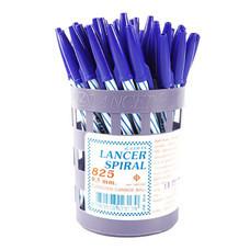ปากกาลูกลื่น LANCER 825 0.5 มม. สีน้ำเงิน 1x50