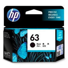 ตลับหมึก HP 63 BLACK