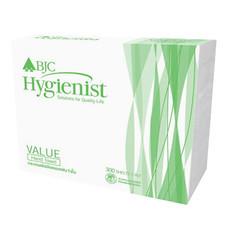 กระดาษเช็ดมือ BJC Hygienist Value 1 ชั้น 300 แผ่น (แพ็ค 24 ห่อ)